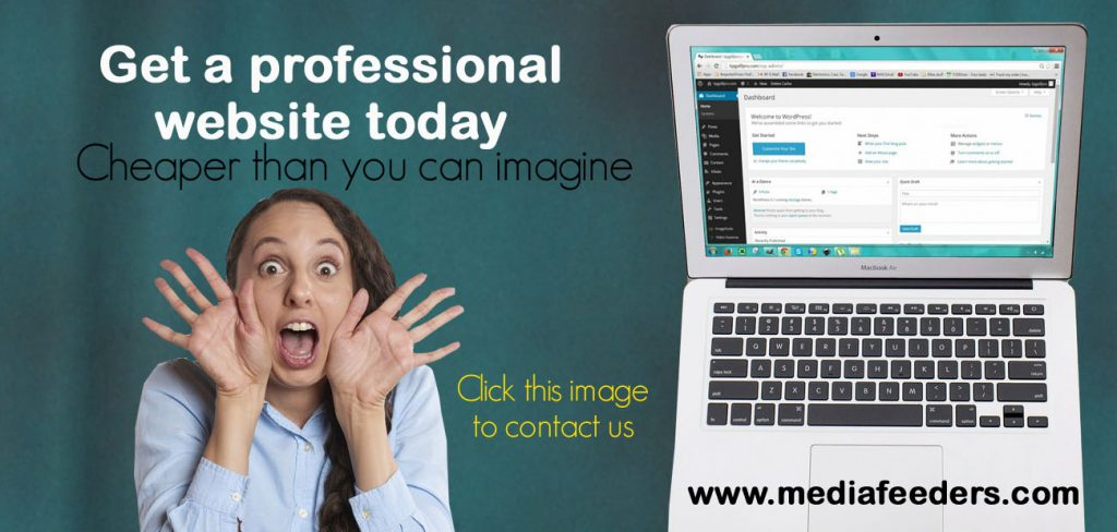 Get a professional Website for your ministry